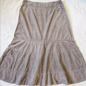 Christopher & Banks Corduroy Skirt - Size 4